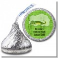 Gator - Hershey Kiss Birthday Party Sticker Labels thumbnail