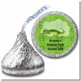 Gator - Hershey Kiss Birthday Party Sticker Labels