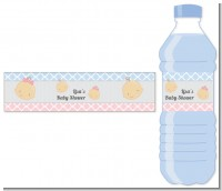 Gender Reveal - Personalized Baby Shower Water Bottle Labels