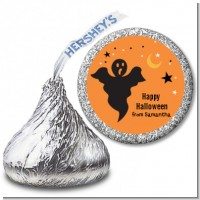 Ghost - Hershey Kiss Halloween Sticker Labels