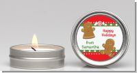 Gingerbread - Christmas Candle Favors