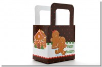 Gingerbread House - Personalized Christmas Favor Boxes