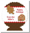 Gingerbread House - Personalized Christmas Centerpiece Stand thumbnail