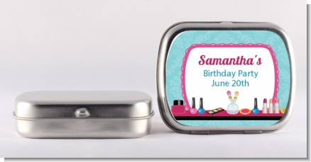Glamour Girl Makeup Party - Personalized Birthday Party Mint Tins