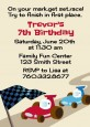 Go Kart - Birthday Party Invitations thumbnail