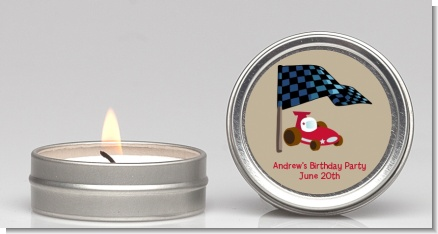 Go Kart - Birthday Party Candle Favors