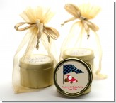 Go Kart - Birthday Party Gold Tin Candle Favors