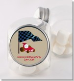 Go Kart - Personalized Birthday Party Candy Jar