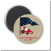 Go Kart - Personalized Birthday Party Magnet Favors