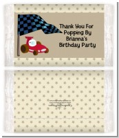 Go Kart - Personalized Popcorn Wrapper Birthday Party Favors