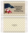 Go Kart - Personalized Popcorn Wrapper Birthday Party Favors thumbnail