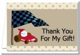 Go Kart - Birthday Party Thank You Cards