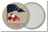 Go Kart - Personalized Birthday Party Pocket Mirror Favors