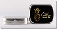 Gold Glitter Pineapple - Personalized Bridal Shower Mint Tins