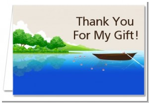 Gone Fishing - Retirement Party Thank You Cards