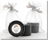 Grad Keys to Success - Graduation Party Black Candle Tin Favors