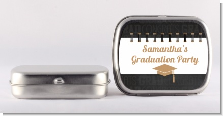 Grad Keys to Success - Personalized Graduation Party Mint Tins
