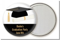 Graduation Cap - Personalized Graduation Party Pocket Mirror Favors