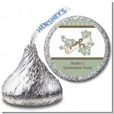 Graduation Diploma - Hershey Kiss Graduation Party Sticker Labels