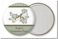 Graduation Diploma - Personalized Graduation Party Pocket Mirror Favors