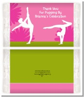 Gymnastics - Personalized Popcorn Wrapper Birthday Party Favors