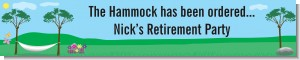 Hammock - Personalized Retirement Party Banners
