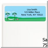 Hammock - Retirement Party Return Address Labels