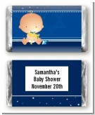 Hanukkah Baby - Personalized Baby Shower Mini Candy Bar Wrappers