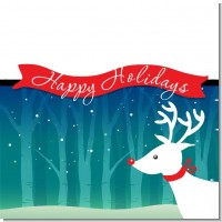Happy Holidays Reindeer Christmas Theme