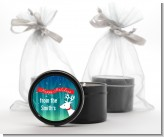 Happy Holidays Reindeer - Christmas Black Candle Tin Favors