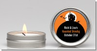 Haunted House - Halloween Candle Favors