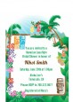 Hawaiian Luau - Bridal Shower Petite Invitations thumbnail