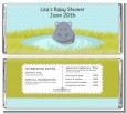 Hippopotamus Boy - Personalized Baby Shower Candy Bar Wrappers thumbnail
