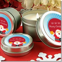 Ho Ho Ho Santa Claus - Christmas Candle Favors