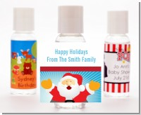 Ho Ho Ho Santa Claus - Personalized Christmas Hand Sanitizers Favors