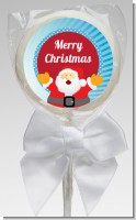 Ho Ho Ho Santa Claus - Personalized Christmas Lollipop Favors