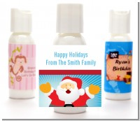 Ho Ho Ho Santa Claus - Personalized Christmas Lotion Favors