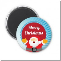 Ho Ho Ho Santa Claus - Personalized Christmas Magnet Favors