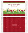 Holiday Cocktails - Personalized Popcorn Wrapper Christmas Favors thumbnail