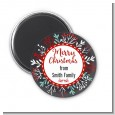 Holly Berries - Personalized Christmas Magnet Favors thumbnail