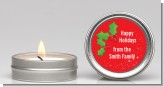 Holly - Christmas Candle Favors