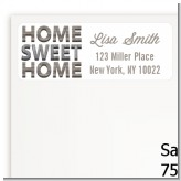 Home Sweet Home - Real Estate Return Address Labels