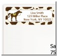 Horse - Birthday Party Return Address Labels thumbnail