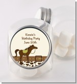 Horse - Personalized Birthday Party Candy Jar