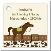Horse - Personalized Birthday Party Card Stock Favor Tags