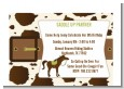 Horse - Birthday Party Petite Invitations thumbnail