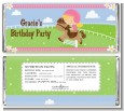 Horseback Riding - Personalized Birthday Party Candy Bar Wrappers thumbnail