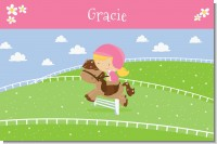 Horseback Riding - Personalized Birthday Party Placemats