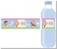 Horseback Riding - Personalized Birthday Party Water Bottle Labels
