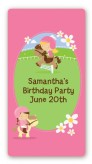 Horseback Riding - Custom Rectangle Birthday Party Sticker/Labels